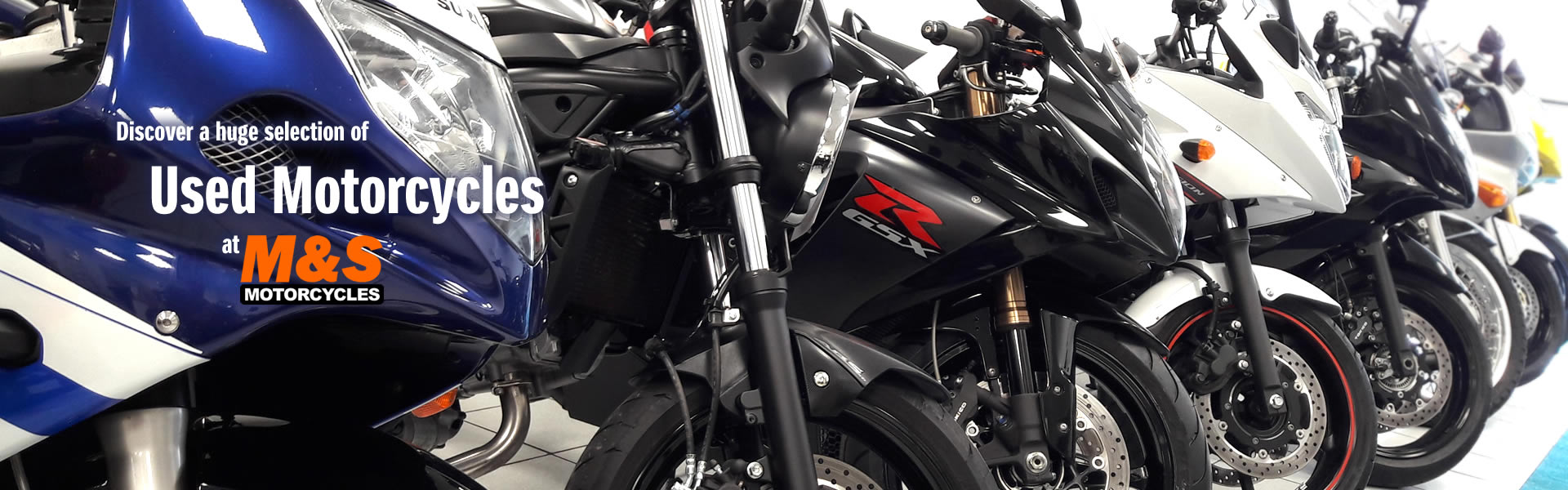 New and used motorcycles for sale | M&S Motorcycles Newcastle