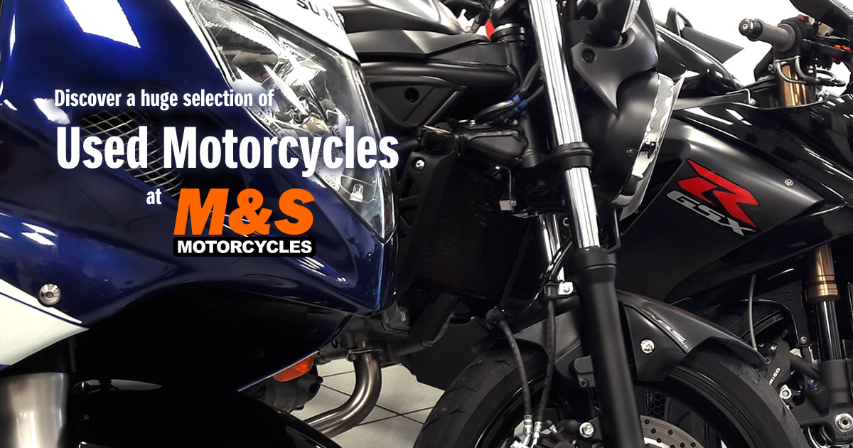 New and used motorcycles for sale   M&S Motorcycles Newcastle