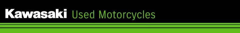 Kawasaki used motorcycles