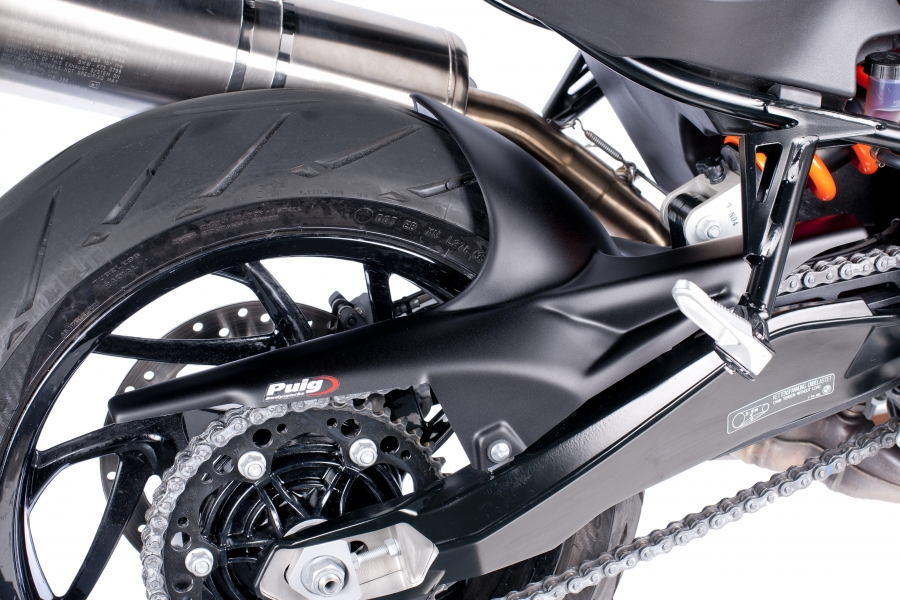 Puig BMW F800R Rear Fender Matt Black M And S Motorcycles Shop