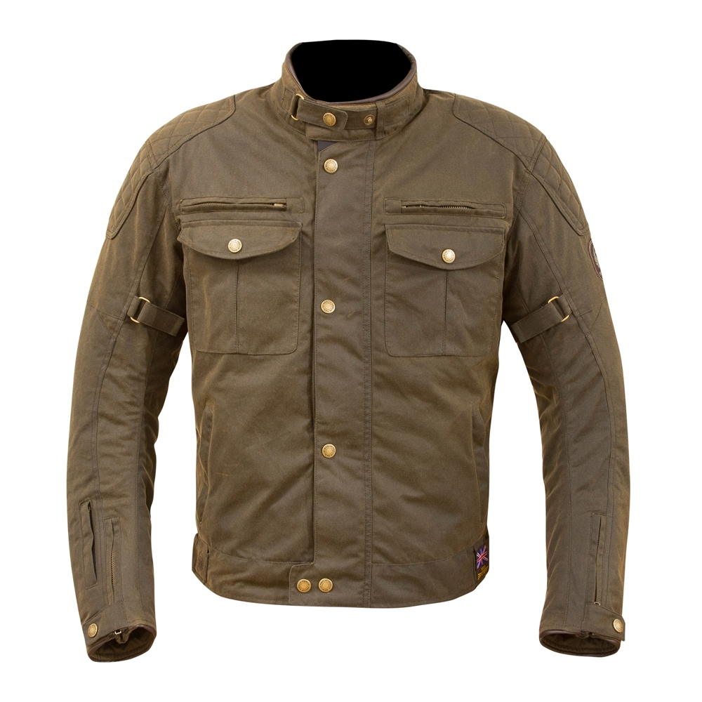 Merlin Barton Wax Jacket Olive M Amp S Motorcycles Shop