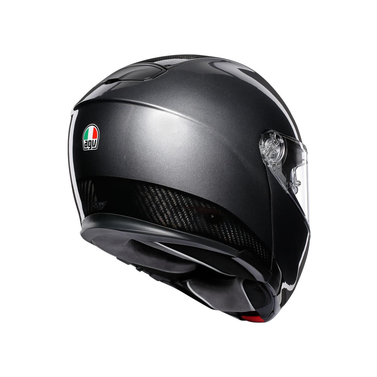 Agv Sports Modular Mono Gloss Carbon Dark Grey M S Motorcycles Shop Newcastle