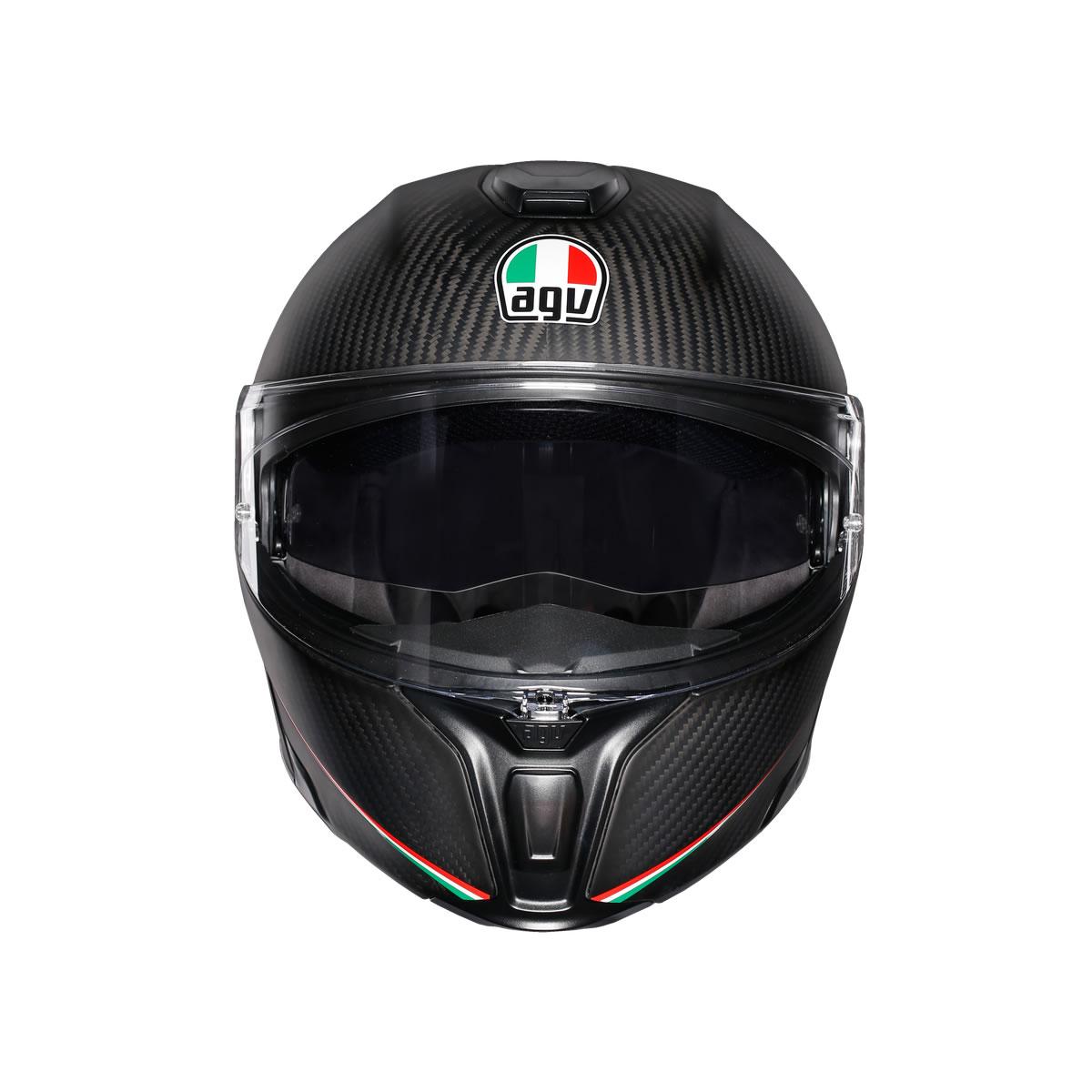 Agv Sports Modular Tricolore Matt Carbon Italy M S Motorcycles Shop Newcastle