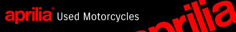 Aprilia used bikes