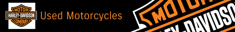 Harley Davidson used bikes