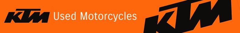 KTM used bikes